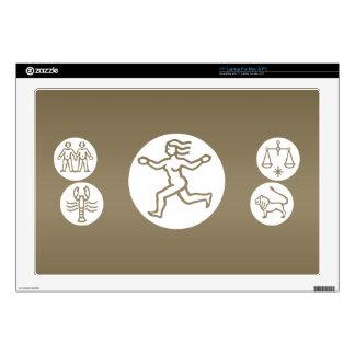 "VIRGO -  ZODIAC Symbol Skins For 17"" Laptops"