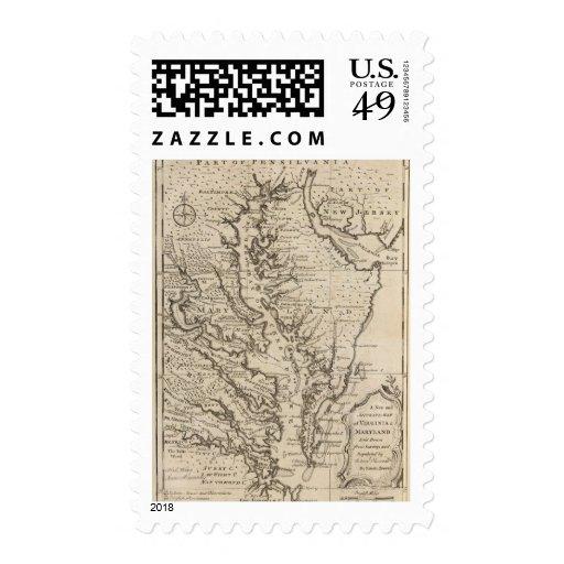 Virigina and Maryland Postage