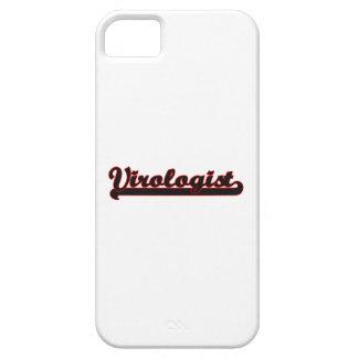 Virologist Classic Job Design iPhone 5 Covers