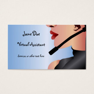 Virtual Assistant Business Cards Templates Zazzle - Virtual business card template