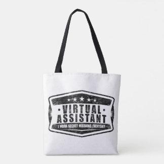 Virtual Assistant Tote Bag