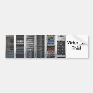 Virtual Bumper Sticker