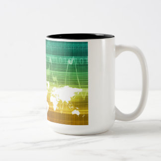 Virtual Business Platform Two-Tone Coffee Mug