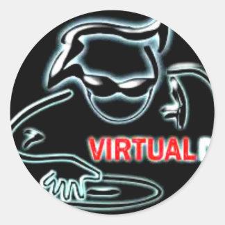 virtual Dj Stickers