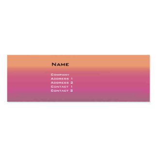 VIRTUAL LANDS Double-Sided MINI BUSINESS CARDS (Pack OF 20)