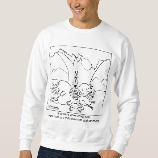 Virtual Pet Owners Sweatshirt