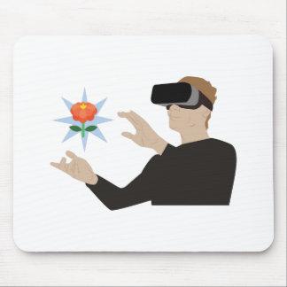 Virtual Reality Mouse Pad