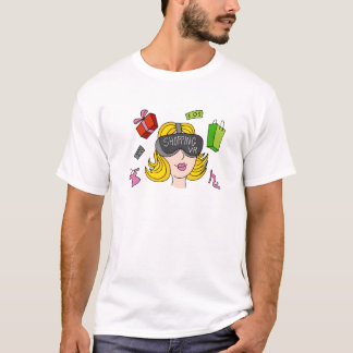 Virtual Reality Shopping Girl T-Shirt