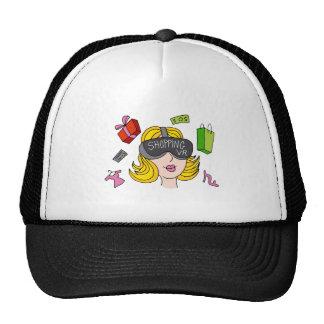 Virtual Reality Shopping Girl Trucker Hat