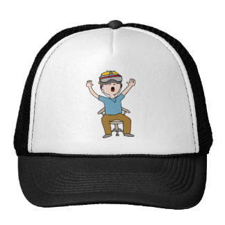 Virtual Reality Space Exploration Trucker Hat
