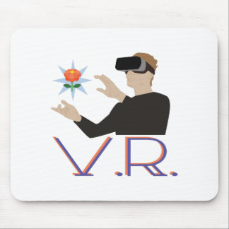 Virtual Reality V.R. Mouse Pad