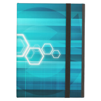 Virtual Science and Research Development as Art Cover For iPad Air