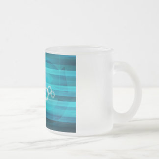 Virtual Science and Research Development as Art Frosted Glass Coffee Mug