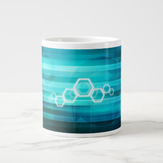 Virtual Science and Research Development as Art Giant Coffee Mug