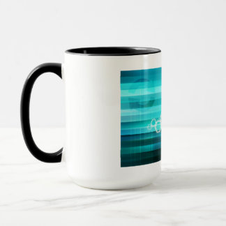 Virtual Science and Research Development as Art Mug