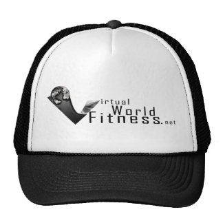 Virtual World Fitness Thinking Cap Trucker Hat