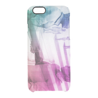 Virtualization Business Technology as an Abstract Clear iPhone 6/6S Case