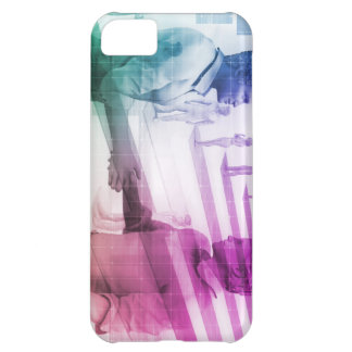 Virtualization Business Technology as an Abstract iPhone 5C Case