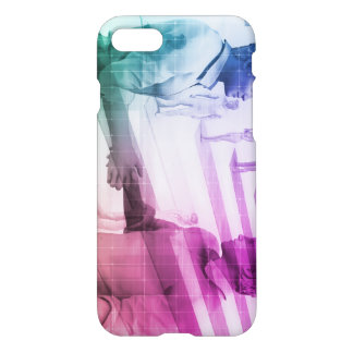 Virtualization Business Technology as an Abstract iPhone 7 Case
