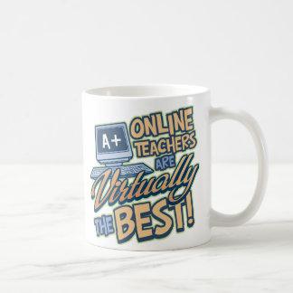Virtually the Best Online Teacher Coffee Mug