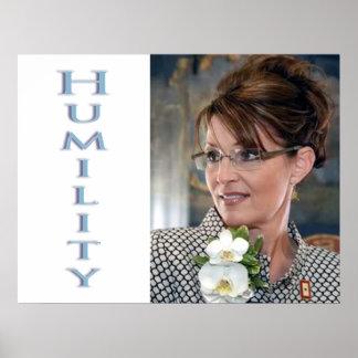Virtud de la humildad; valor de 912 proyectos póster