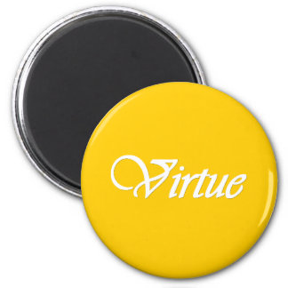 Virtud - imán personal del valor del progreso