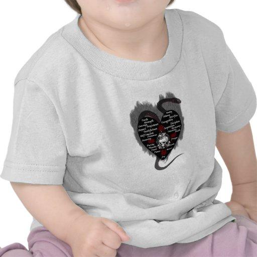 virtudes camiseta