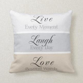 Virtudes modernas almohadas