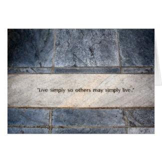 Virtudes Tarjeta De Felicitación