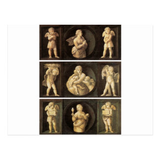 Virtudes teológicas por Raphael Tarjeta Postal