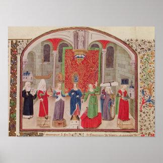 Virtudes teológicas y cardinales posters
