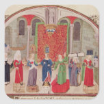 Virtudes teológicas y cardinales colcomanias cuadradass