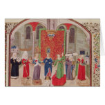 Virtudes teológicas y cardinales tarjeta