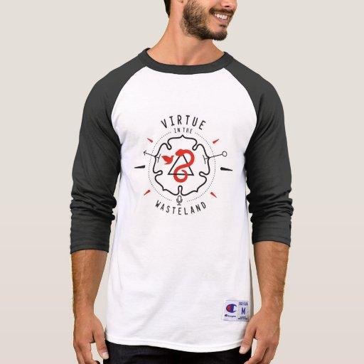 Virtue in the Wasteland Baseball T Tshirts