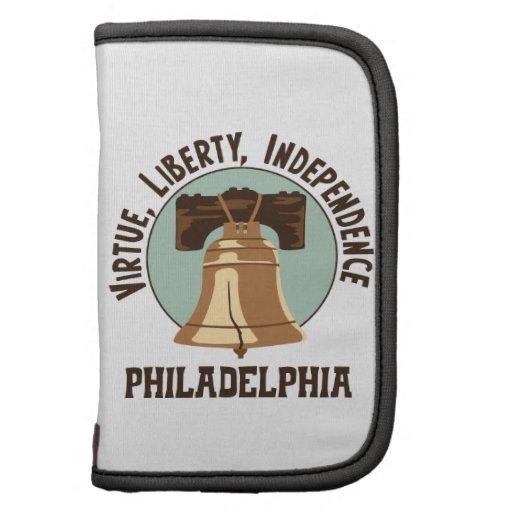 Virtue, Liberty, Independence Philadelphia Folio Planner