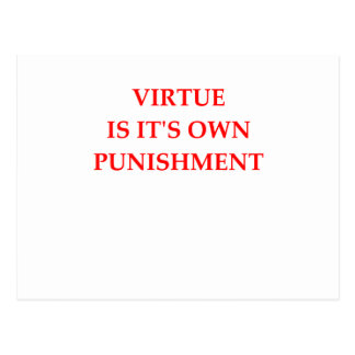 virtue postcard