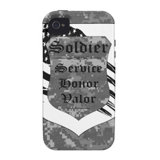Virtues of a Soldier iPhone 4 iPhone 4/4S Cover