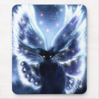 Virtuous Fairy Cat Mousepad