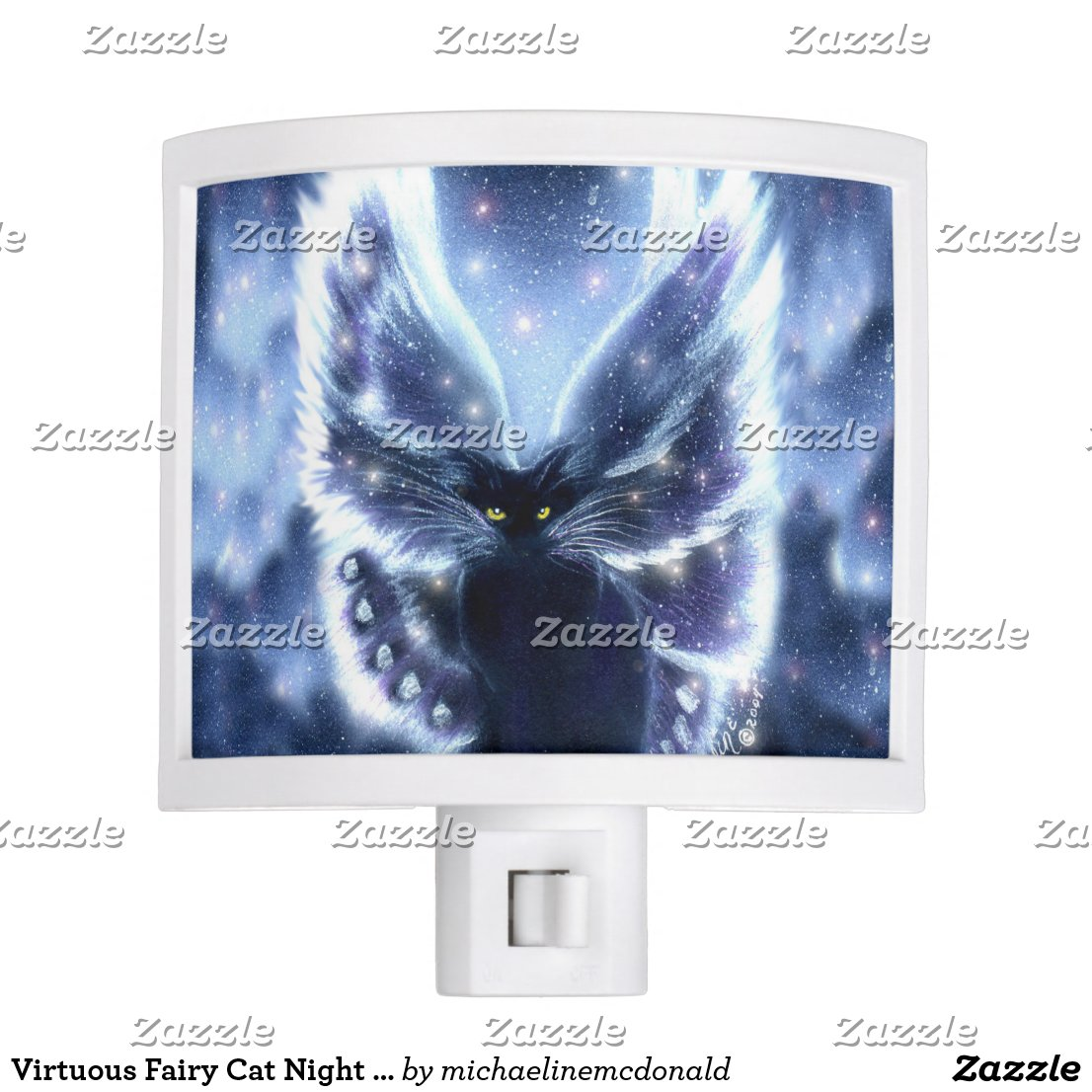 Virtuous Fairy Cat Night Light