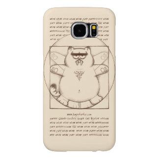 Virtuvian Sable-dentado: Galaxia S6 de Samsung Funda Samsung Galaxy S6