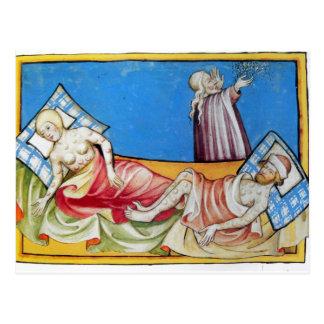 Viruela en las Edades Medias Postales