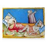 Viruela en las Edades Medias Tarjeta Postal
