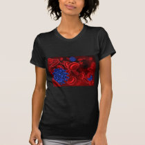 Virus and Blood Cells T-Shirt