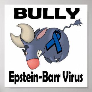 Virus de Epstein-Barr del matón Póster