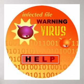 Virus de ordenador posters