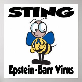 Virus de STING Epstein-Barr Póster