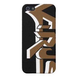 Virus Ebony (Brown) iPhone Case