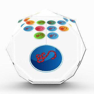 Virus Expansion Chart Acrylic Award
