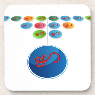 Virus Expansion Chart Beverage Coaster