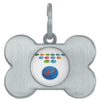 Virus Expansion Chart Pet ID Tag